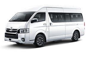 Rental Toyota Hiace